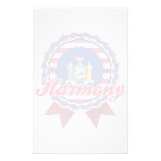 Harmony NY Stationery Paper