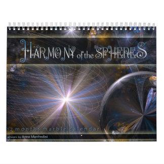 Harmony of the Spheres Calendar