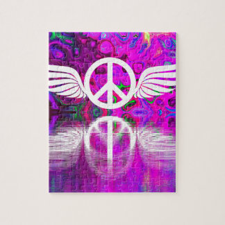 Harmony peace and hope for the human world jigsaw puzzle