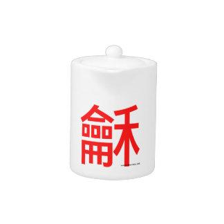 Harmony & Peace Teapot