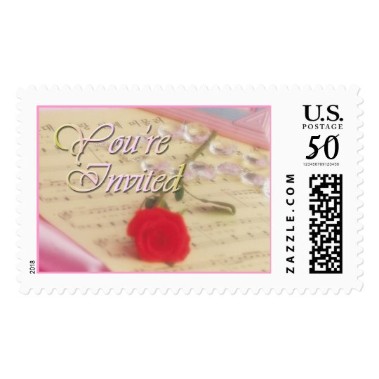 Harmony Rose (1A) You're Invited Postage