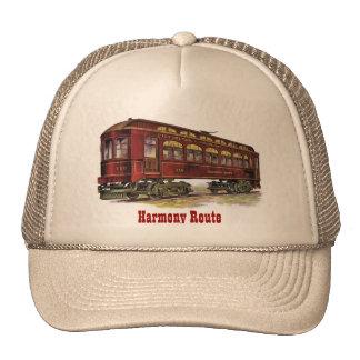 Harmony Route Railway Car Trucker Hat