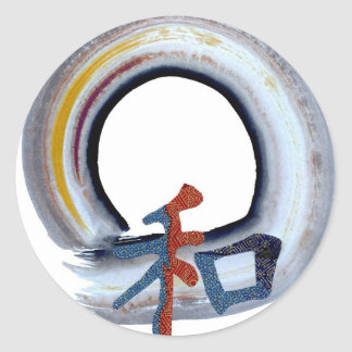 Harmony - shikiski board classic round sticker