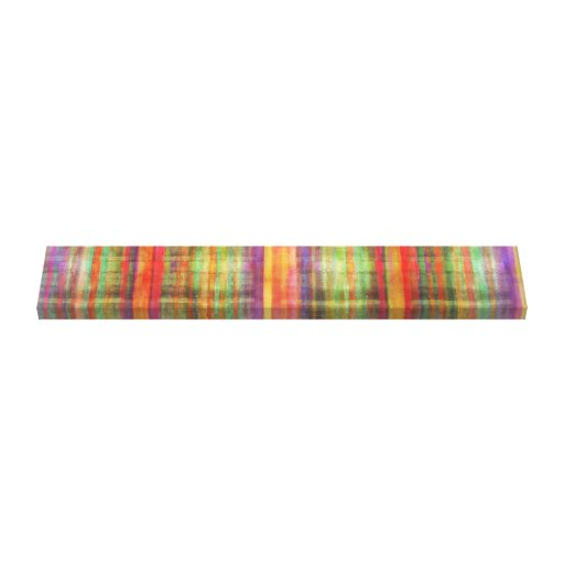 Harmony Stripes Abstract Modern Art Wrapped Canvas