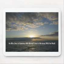 Harmony Sunset Hawaii Mouse Pad