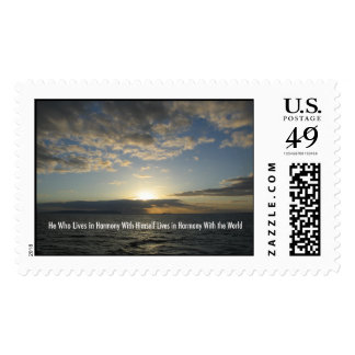 Harmony Sunset Hawaii Postage Stamps