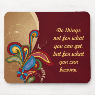 Harmony Swirl Affirmation Mouse Pad