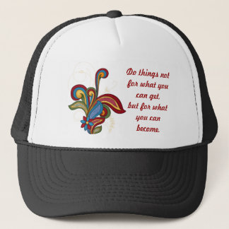 Harmony Swirl Affirmation Trucker Hat