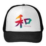 Harmony Symbol Mesh Hats