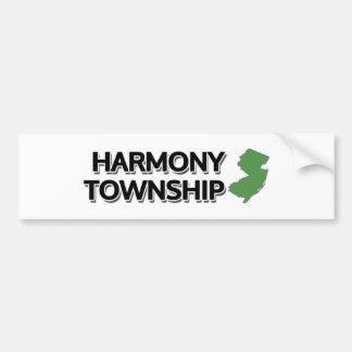 Harmony Township, New Jersey Bumper Sticker