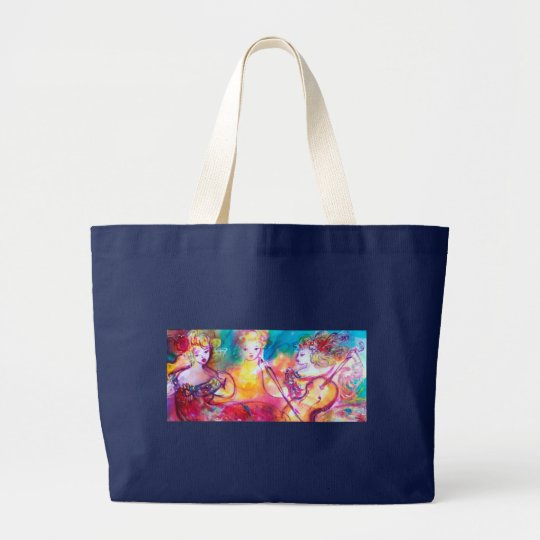 HARMONY TRIO SPRING CONCERT LARGE TOTE BAG