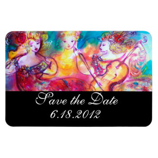 HARMONY TRIO SPRING CONCERT,Save the Date Rectangle Magnets