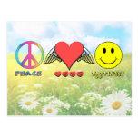 Harmony - Wishing you Peace, Love and Happiness! Post Card