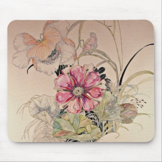 Harmony Yellow flowers Mouse Pad