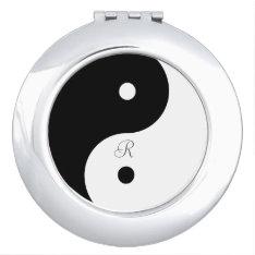 Harmony Yin Yang Black White Mirror at Zazzle