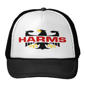 Harms Surname Trucker Hats