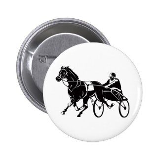harness cart horse racing sulkies buttons