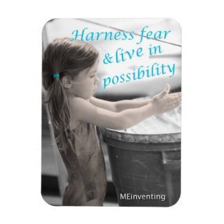 Harness Fear & Live in Possibility (Gymnasts) Magnet