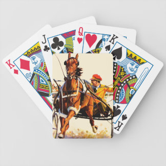 Harness Race Bicycle Playing Cards