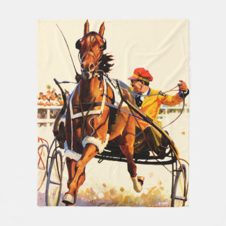 Harness Race Fleece Blanket