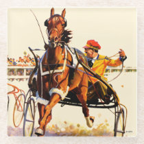Harness Race Glass Coaster