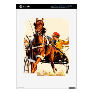 Harness Race iPad 3 Decals