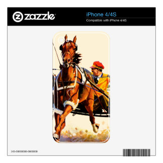 Harness Race iPhone 4 Decal
