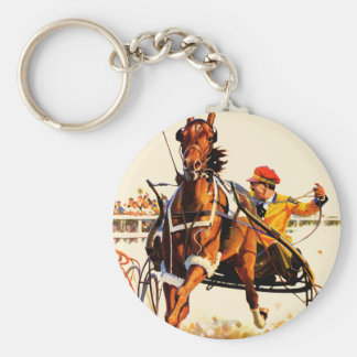 Harness Race Keychain
