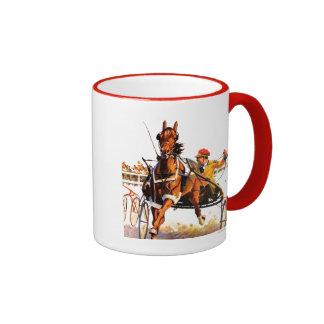 Harness Race Ringer Coffee Mug