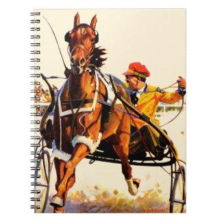 Harness Race Spiral Notebook