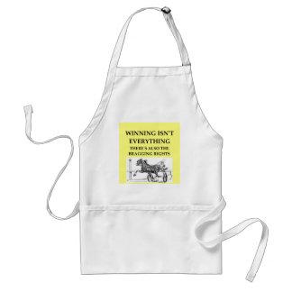 harness racing adult apron