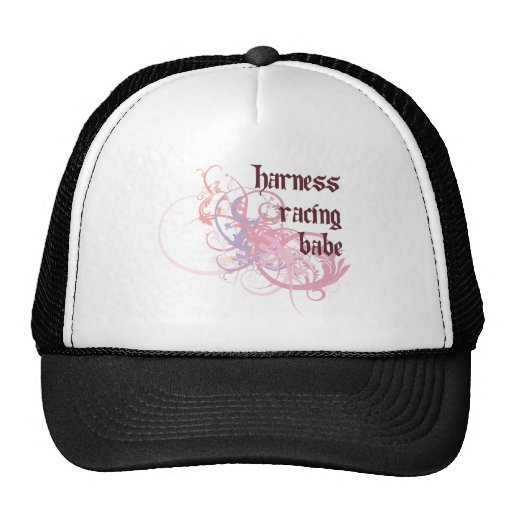Harness Racing Babe Trucker Hat