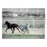 Harness Racing, Birthday Cards