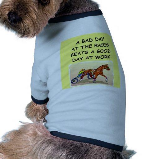 harness racing dog tee