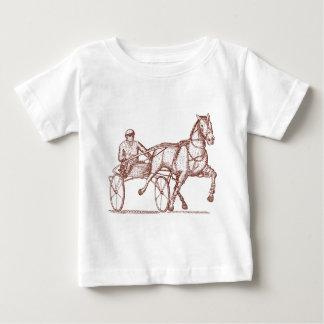 Harness racing engraving t shirt
