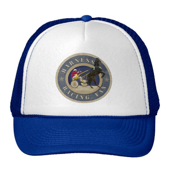 Harness Racing Fan Trucker Hat