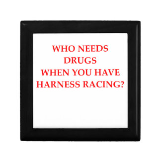 harness racing jewelry box