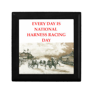 harness racing keepsake boxes