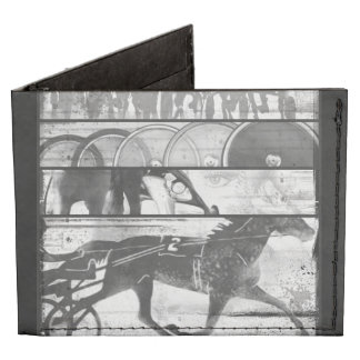 Harness Racing Grunge Tyvek Wallet