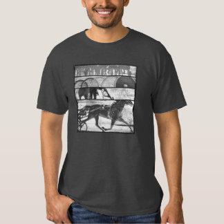 Harness Racing Grunge T-shirt