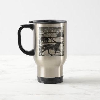 Harness Racing Grunge Travel Mug