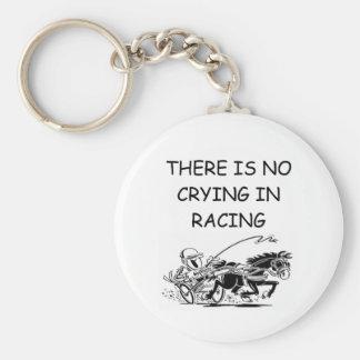 HARNESS racing joke Basic Round Button Keychain