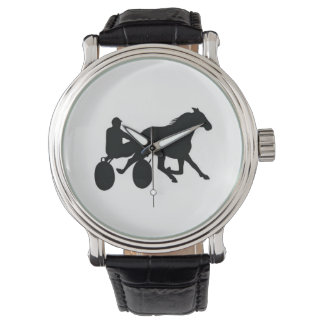 Harness Racing Logo Stylish Watch! Wrist Watch