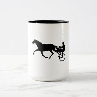 Harness Racing Two-Tone Coffee Mug