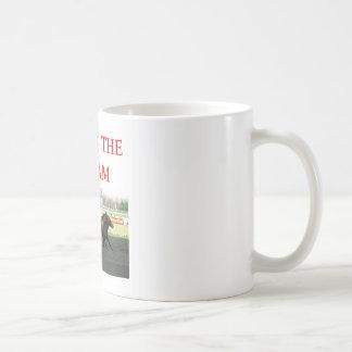 harness racing classic white coffee mug