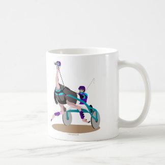 Harness Racing Ostrich Coffee Mugs