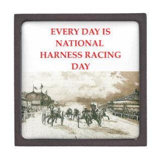harness racing premium keepsake box