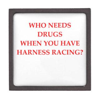 harness racing premium trinket box