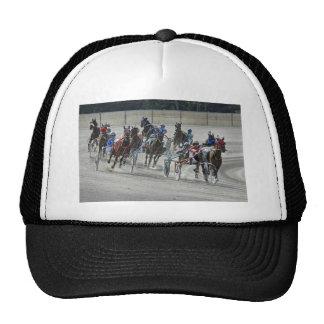 Harness Racing Rounding Last Turn Ball Cap Trucker Hat