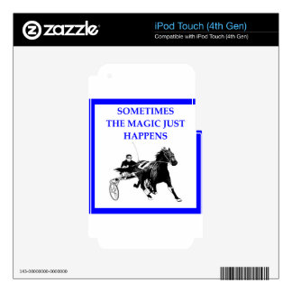 harness racing skin for iPod touch 4G